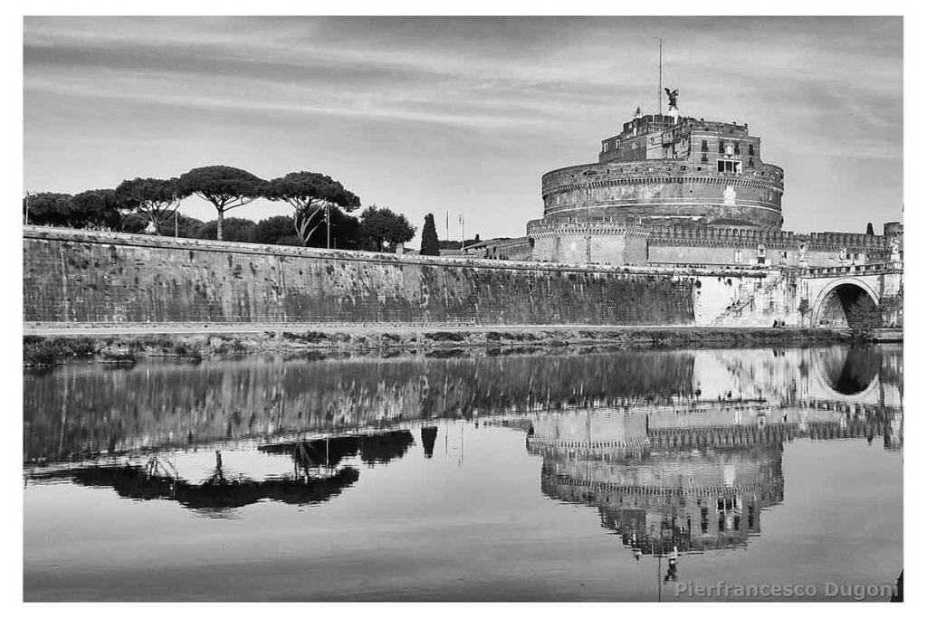 Castel-Sant'Angelo-riflesso