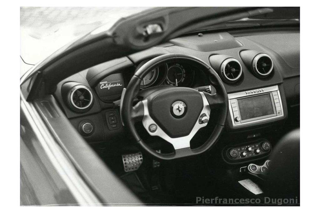 Interno Ferrari