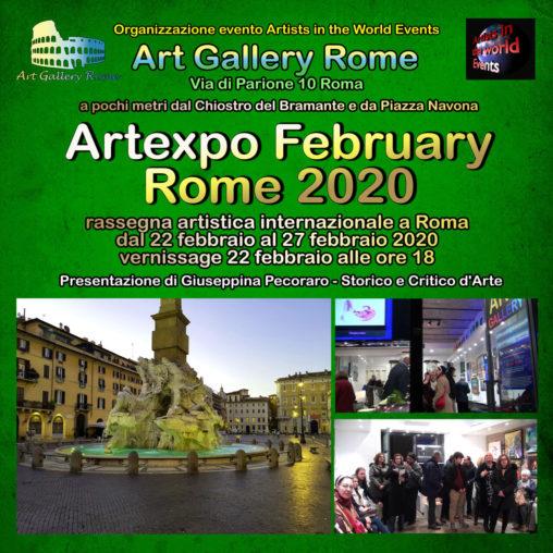 Artexpo February Rome 2020